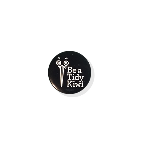 Be a Tidy Kiwi Badges