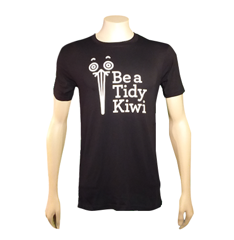 Be a Tidy Kiwi Logo T-Shirt